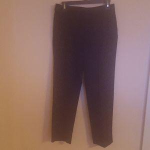 Classic Fit Black Dress Pants